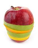 кусочки фруктов — Стоковое фото
