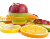 Fruit slices — Stock fotografie