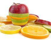 Frukt skivor — Stockfoto