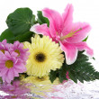 Beautiful bouquet with reflection — Stockfoto