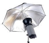 Studio strobe light — Stock Photo