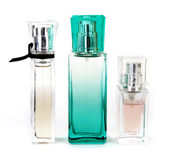 Three perfumes — Stock Photo
