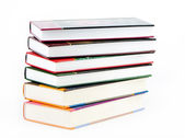 Five books — Stock Photo
