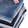 Stock Photo: Jeans for sale