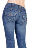 Jeans imaginations — Stock Photo