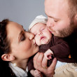 Foto de Stock  : Happy family portrait