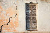 вход в старый дом гранж — Стоковое фото