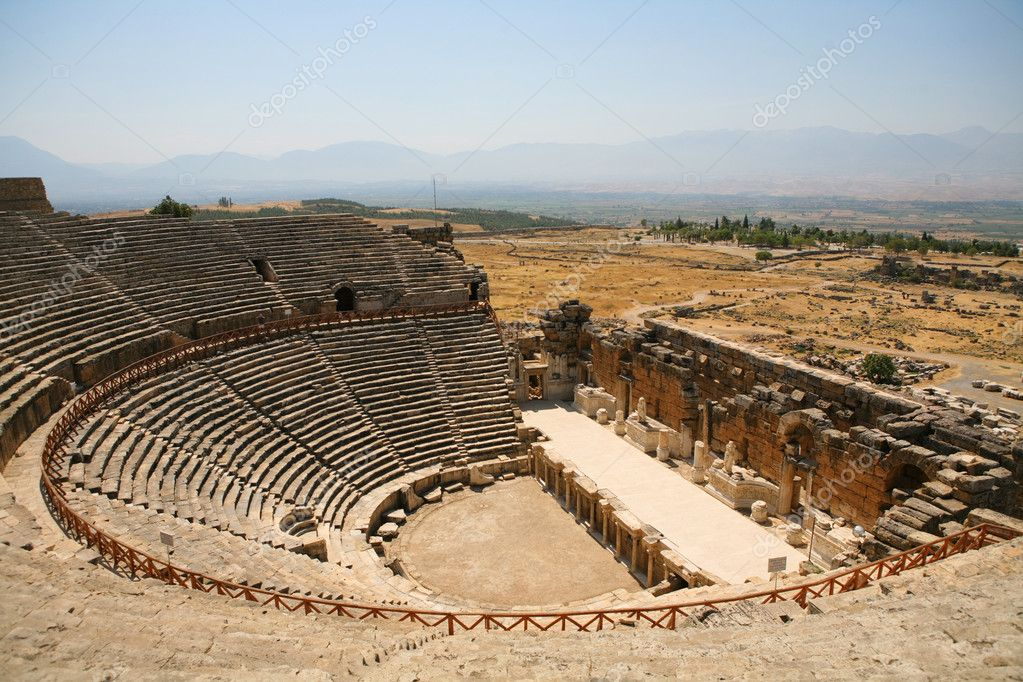 Old Roman Amphitheater — Stock Photo #1804901