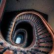 Royalty-Free Stock Photo: Very old spiral stairway case