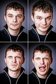 Four characters of man — ストック写真