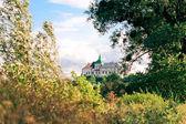 奥列斯科城堡-14 世纪。乌克兰. — 图库照片
