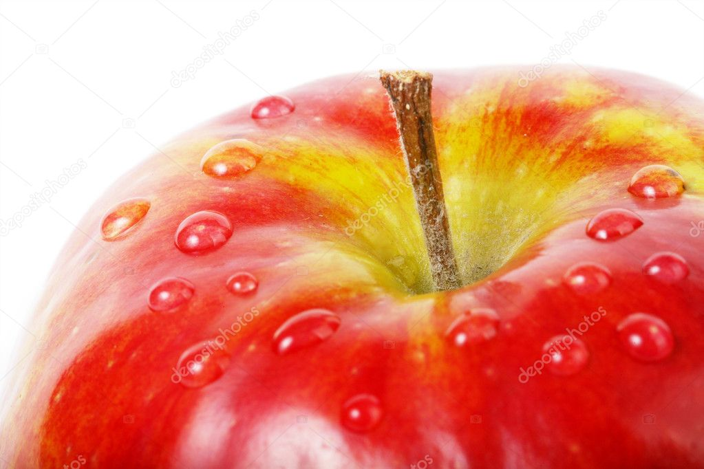 Fresh red apple — Stock Photo #1977991