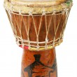 Stock Photo: original african djembe drum
