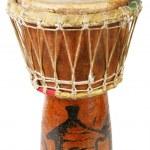 Original african djembe drum — Stock Photo