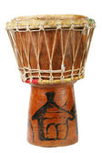 Original african djembe drum — Stock Photo