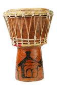 Originální africké djembe buben — Stock fotografie