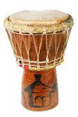 Ursprungliga afrikanska djembe trumma — Stockfoto