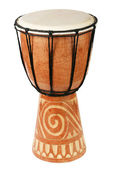 Original african djembe drum — Foto Stock