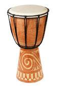 Original africano djembe tambor — Foto Stock
