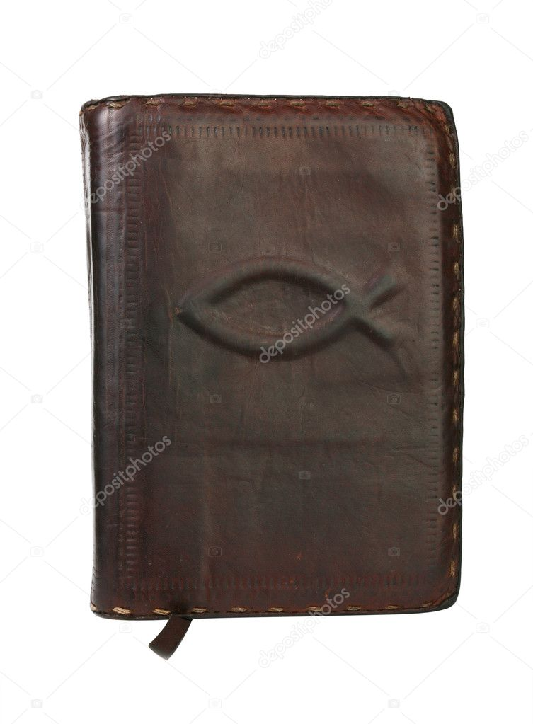 Very old vintage bible — Foto Stock #2173098