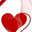 Icon heart backgrounds — 图库照片 #1713407