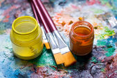 Painting material — Stock Photo