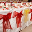 Table settings — Stockfoto