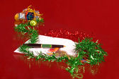 ευχές χριστουγέννων — Φωτογραφία Αρχείου