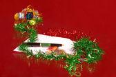 Christmas good wishes — Stock Photo