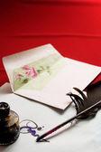 Scrivere mail — Foto Stock