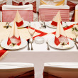 Table settings — Stock Photo #1757961