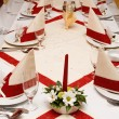 Stock Photo: Table settings