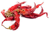 Dry peppers — Stock Photo