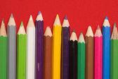 颜色铅笔 — 图库照片