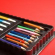 Colours pencils — Stockfoto