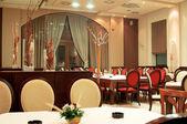 Empty restaurant — Stock Photo