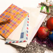 Stock Photo: Christmas mail