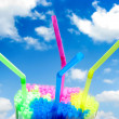 Colorful straws - Stock Photo