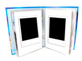Two blank instant photo frame — Stock Photo