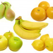 Stock Photo: Various fruits