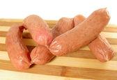 Fresh sausages — Stock Photo