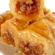 Roll baklava — Stock Photo