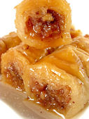 Roll baklava — Stockfoto