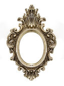 Old oval frame — Stock Photo