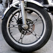 Motorcycle wheel — Stock Photo #1912204