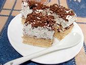 Pieces of cake — Stock Photo