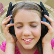 Royalty-Free Stock Photo: Girl listening music