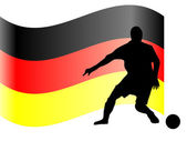 German footballer — Stock Vector