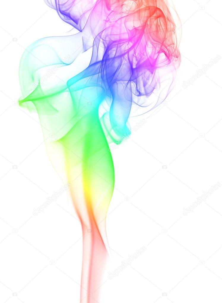 elegant rainbow smoke � stock photo 169 vorgans 1648703