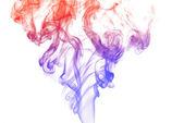 Colorful Pillar of Smoke — Stock Photo